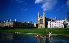 跟着学姐去看剑桥开放日